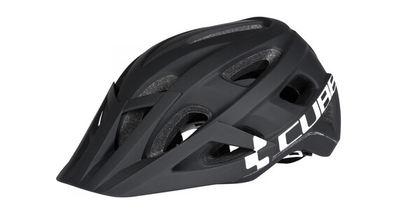 Cube Am Race Helm black'n'white